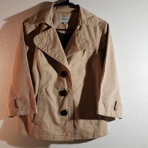 Merona tan jacket size lg